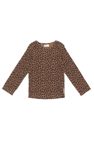 maed for mini Chocolate Leopard Longsleeve