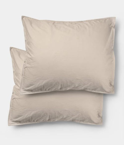 Midnatt Pillow Cases Pebble Set of 2 50x60