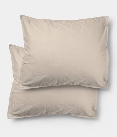 Pre order (arrives first week of May) Midnatt Pillow Cases Pebble Set of 2 50x60