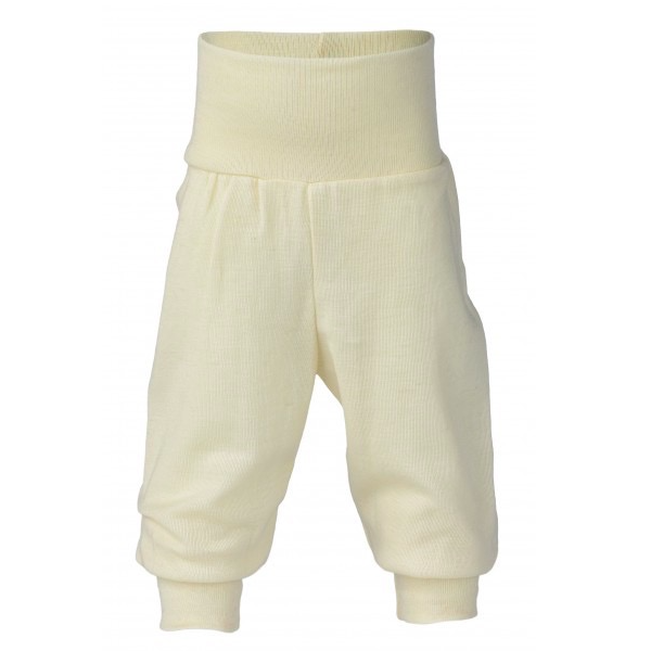Engel Wool Baby Pants with waistband Natural