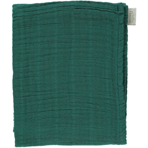 Poudre Organic Swaddle Sesame Large Bistro Green