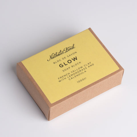 Nathalie Bond Glow Soap Block