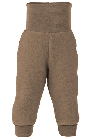 Engel Wool Fleece Baby Pants Walnut