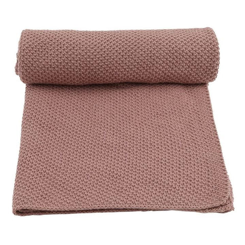 Konges Sløjd Blanket New Stitch Rose Fawn