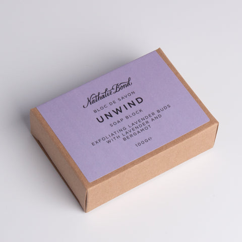 Nathalie Bond Unwind Soap Block