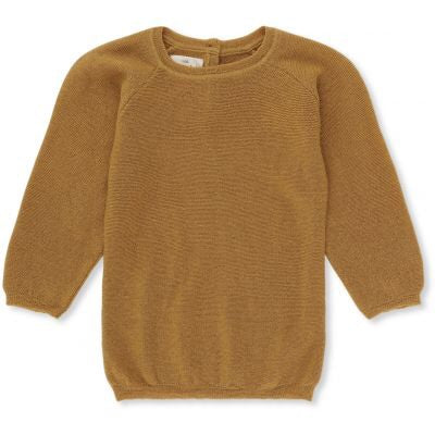 Konges Sløjd Hysken Wool Knit Sweater Mustard