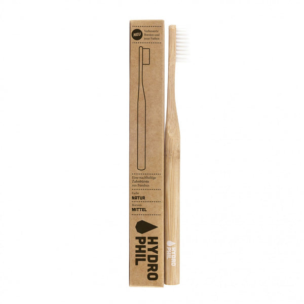 Hydrophil sustainable toothbrush natural adult