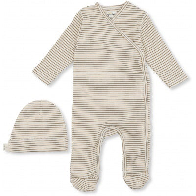 Konges Slojd Dio Newborn Set Deux Dark Honey Off White