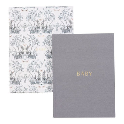 Mrs. Mighetto BABY BIRD x Write To Me Baby Journal First 5 Years