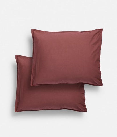 Pre order (arrives first week of May) Midnatt Pillow Cases Rubra Set of 2 50x60