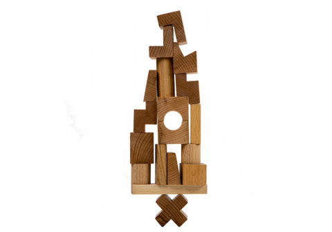 Wooden Story Natural Stacking Tower