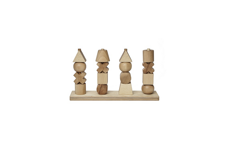 Wooden Story Natural Stacking Toy XL