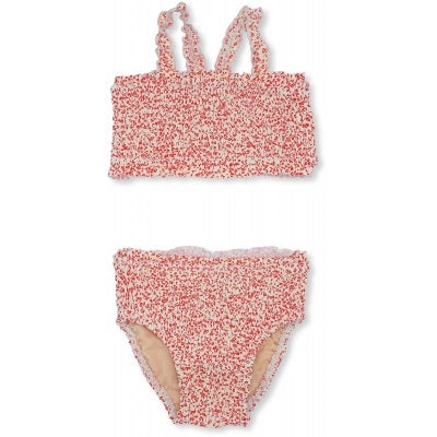 Konges Slojd Girl UV bikini Blossom Mist Grenadine - Last one 6-9M