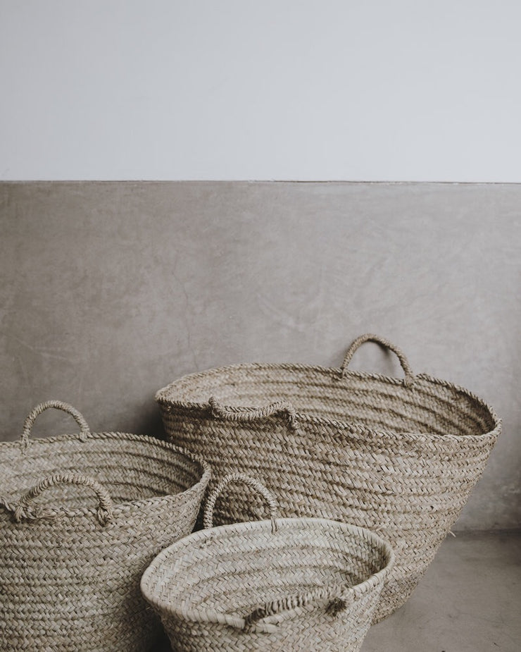 The Souks Handwoven Straw Bag M