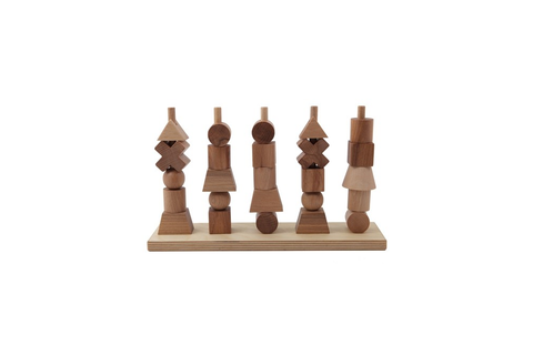 Wooden Story Natural Stacking Toy