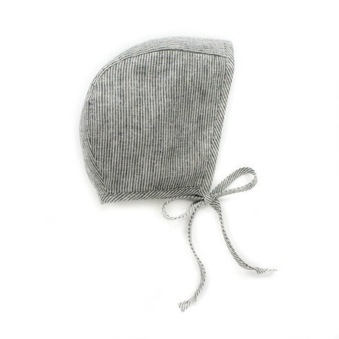 Briar Winter Bonnet Sherpa Lined Natural Stripe