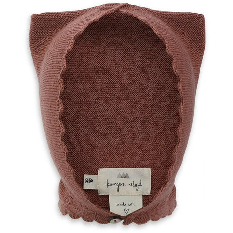 Konges Slojd Cat Helmet Wool Knit Ruben Rose