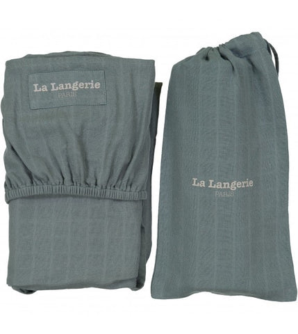 La Langerie Baby Fitted Sheet Elephant Skin