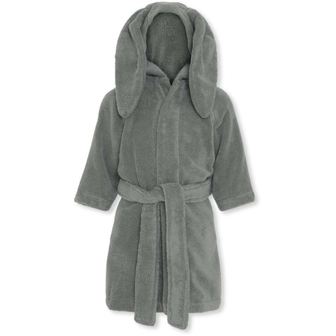 Konges Sløjd Kids Terry Bathrobe Storm Grey