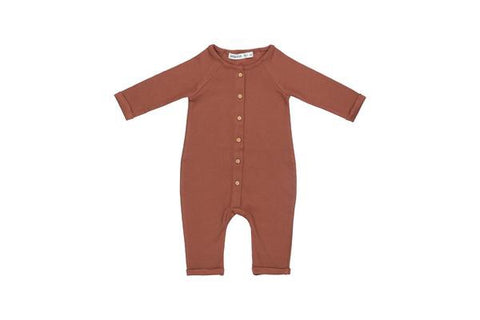 Little Indi Jumpsuit Rust - Last one 18-24M