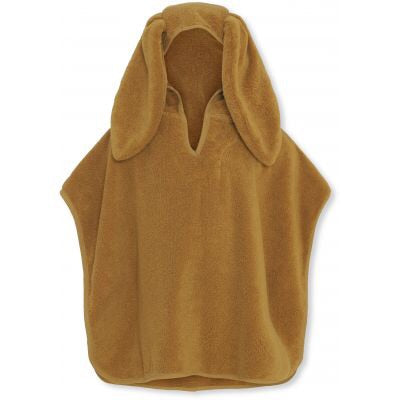 Konges Slojd Kids Terry Poncho Mustard