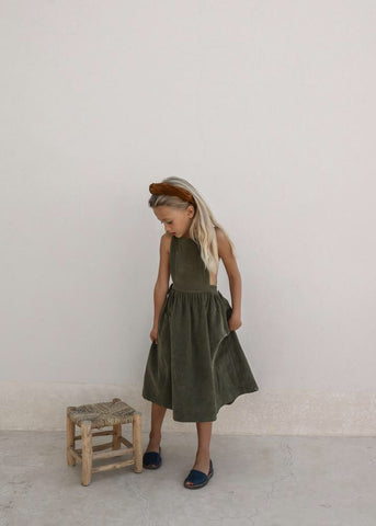 Yoli & Otis Valeriane Dress Martini Olive
