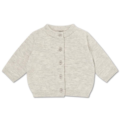 Repose AMS Knit cardigan light mixed grey