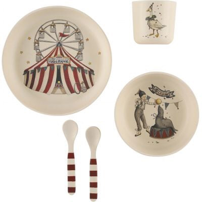 Konges Sløjd Circus Dinner Set