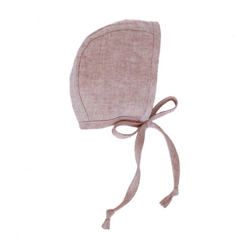 Briar Winter Bonnet Sherpa Lined Blush - Last one 6-12M