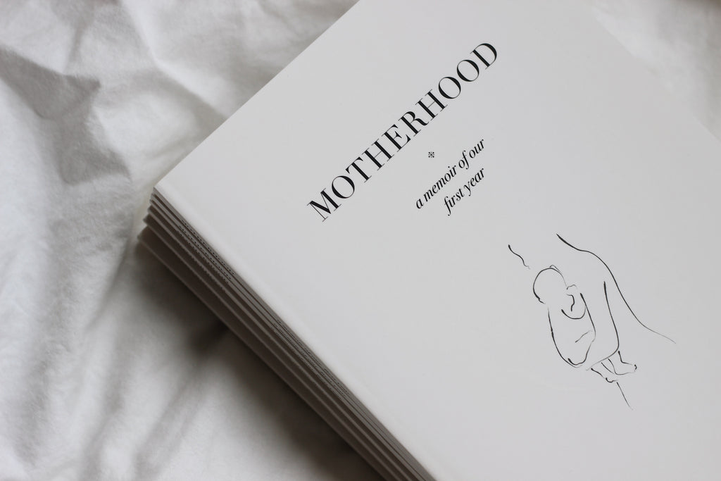 motherhood — a memoir of our first year - by carolijn braeken
