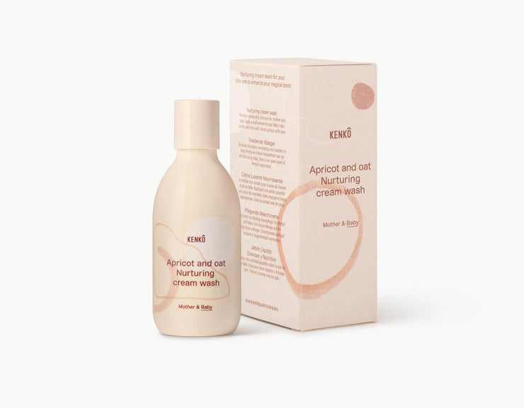 Kenkô Skincare Apricot and Oat Nurturing cream wash Mother & Baby