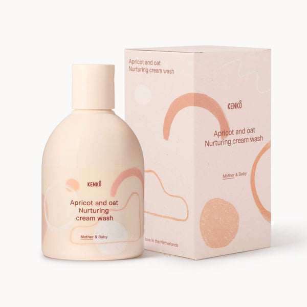 Kenkô Skincare Apricot and Oat Nurturing cream wash Mother