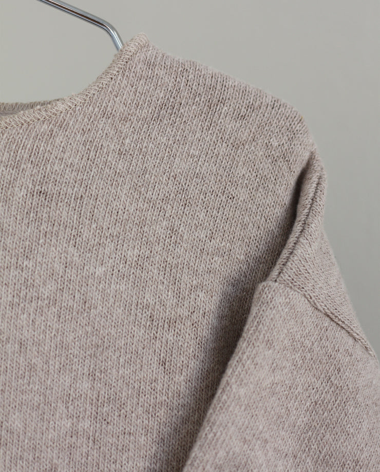 Co Label Sweater Billie Oat