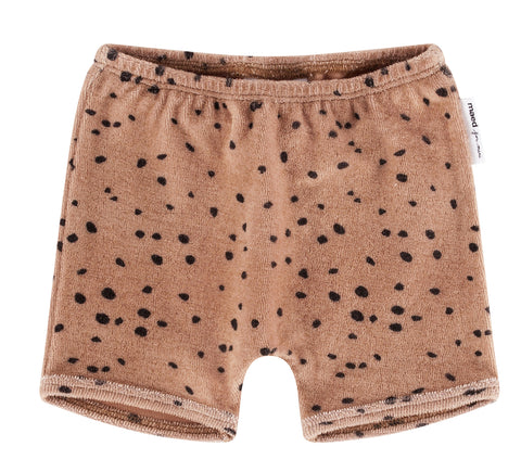 Maed for mini - Pink Leopard AOP Shorts