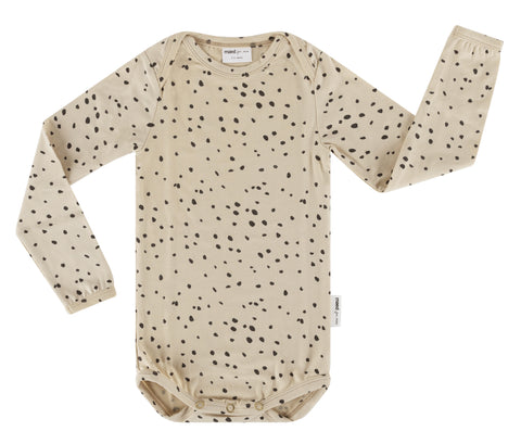 Maed for mini - Sahara Leopard AOP Bodysuit