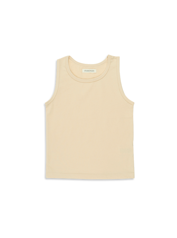 Studio Feder Tank Top Almond Milk