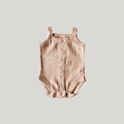 Susukoshi Tank Top Suit Tan