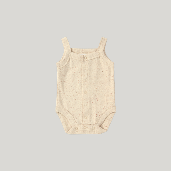 Susukoshi Tank Top Suit Beige Speckled