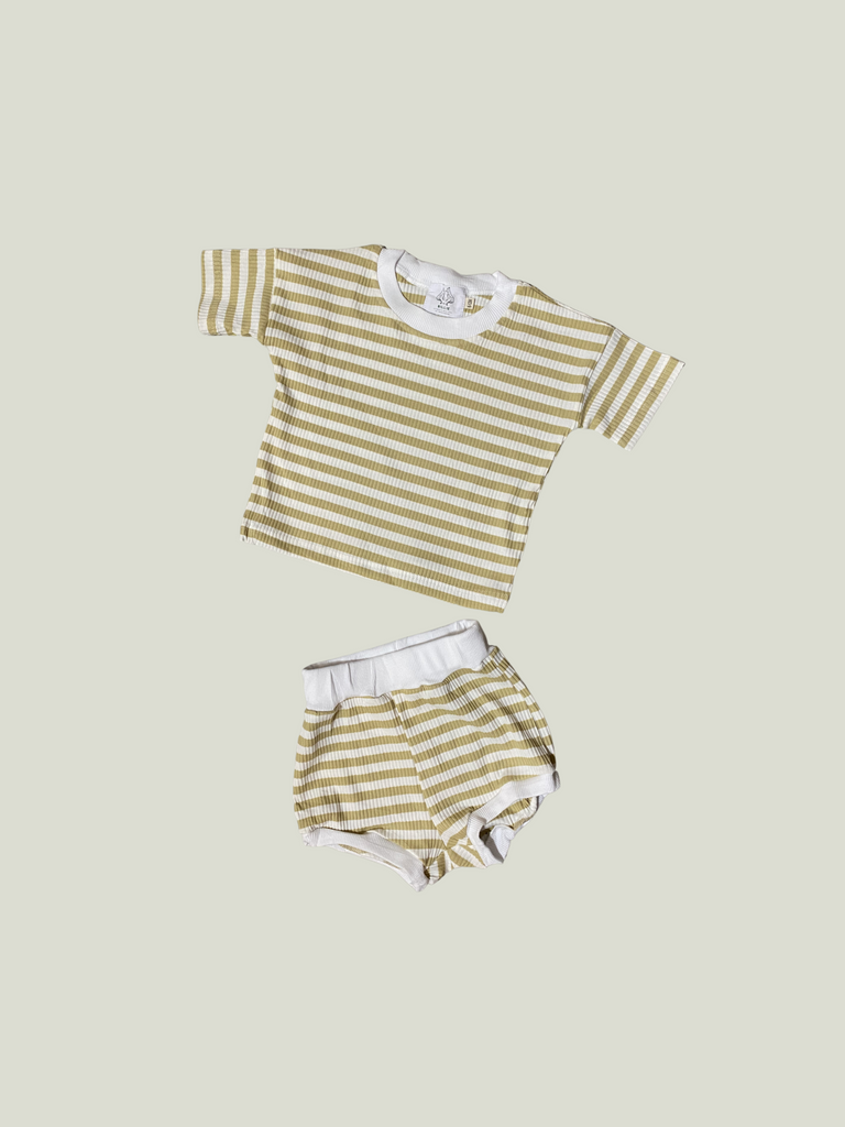 By Billie Ribbed Play Set (3 colors)