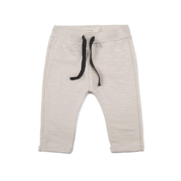 Phil and Phae Baby Sweat Pants Slub Oatmeal