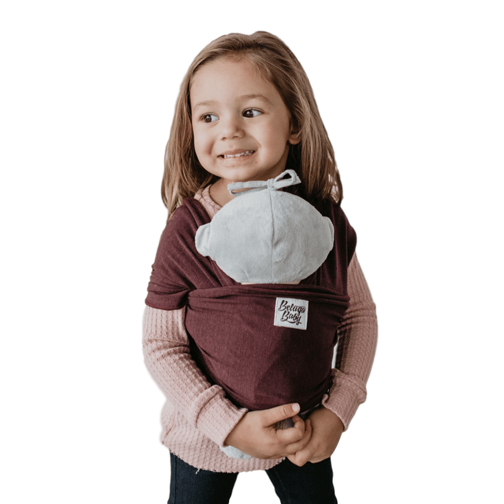 Children's Doll Carrier purple - The Ophelia - Beluga Baby - Made in North America