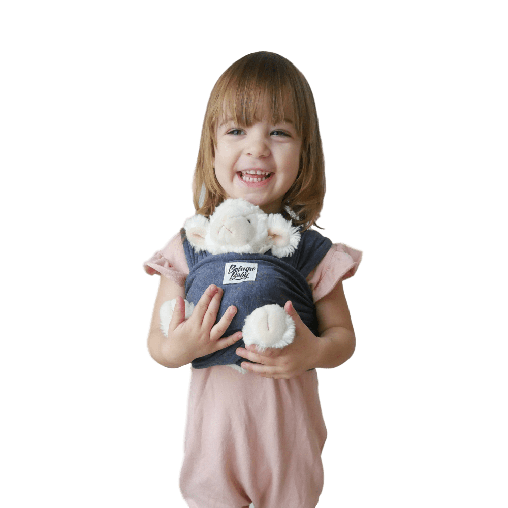 Children's Doll Carrier Navy - The Chelsea - Beluga Baby - Made in North America