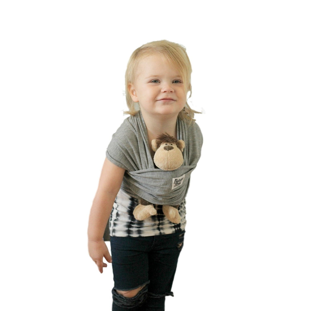 Children's Doll Carrier Charcoal Grey - The McKenzie - Beluga Baby - Made in North America