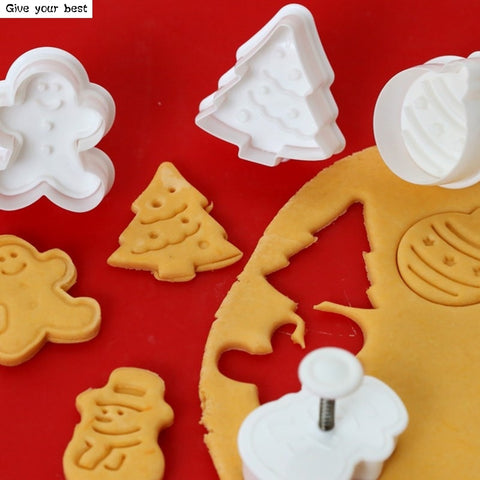 4pcs Stamp Cookie Cutter - TLC Gift Store - tlcgiftstore.com