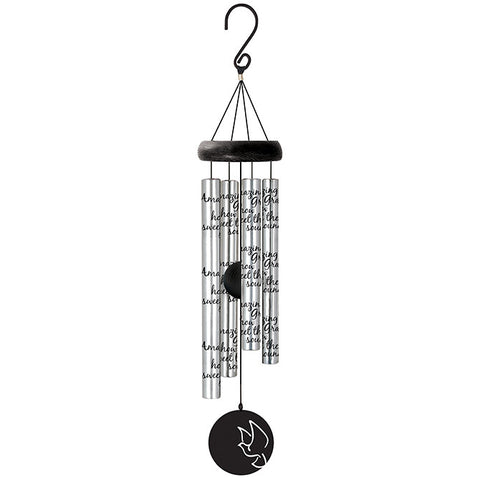 Amazing Grace Sonnet Wind Chimes - TLC Gift Store - tlcgiftstore.com