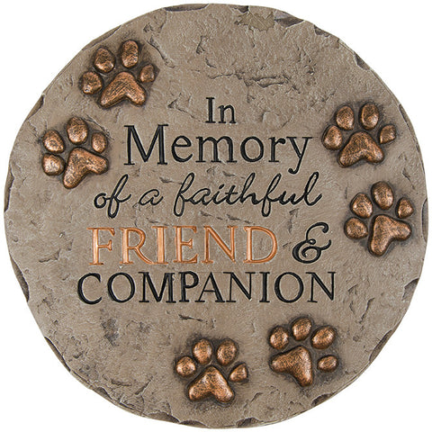 Friend & Companion Decor Stepping Stone - TLC Gift Store - tlcgiftstore.com