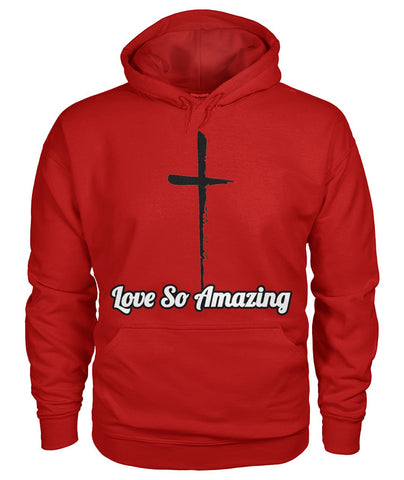 Love So Amazing Front and Back Printed Hoodie - TLC Gift Store - tlcgiftstore.com
