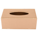 Champagne Gold Tissue Box