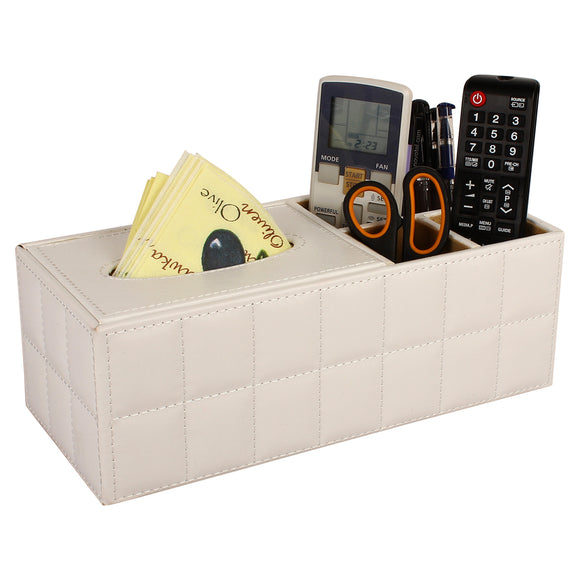 Desk Organizer along with Tissue holder