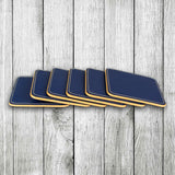 Blue blossom Coasters Set of 6